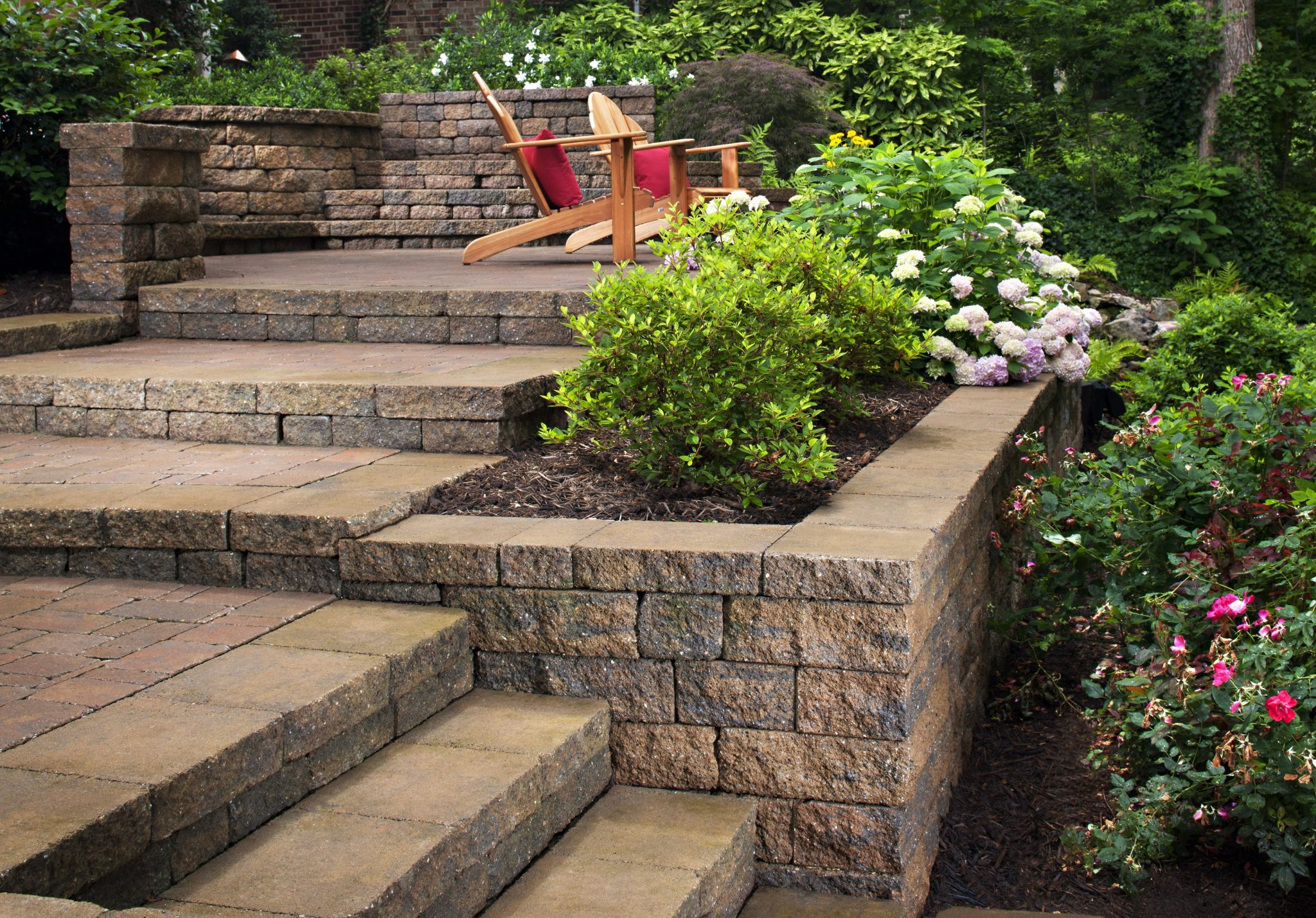Landscaping Ideas For Hillside Backyard Slope Solutions Install inside Landscaping For Sloped Backyards