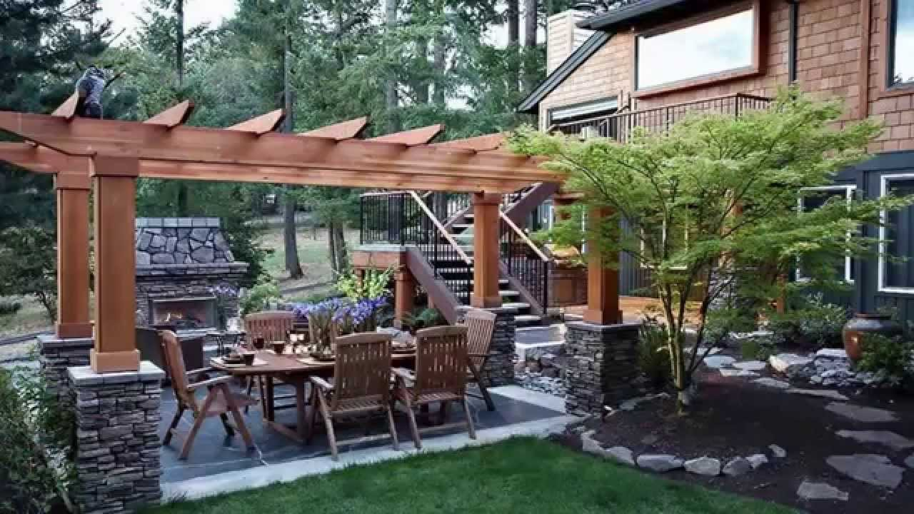 Landscaping Ideasbackyard Landscape Design Ideas Youtube in How To Design Backyard Landscape