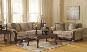 Lanett Barley Living Room Set Signature Design Ashley 3 within Comfortable Living Room Sets