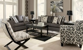 Levon Charcoal Living Room Set From Ashley 73403 Coleman Furniture with 13 Awesome Initiatives of How to Build Living Room Set