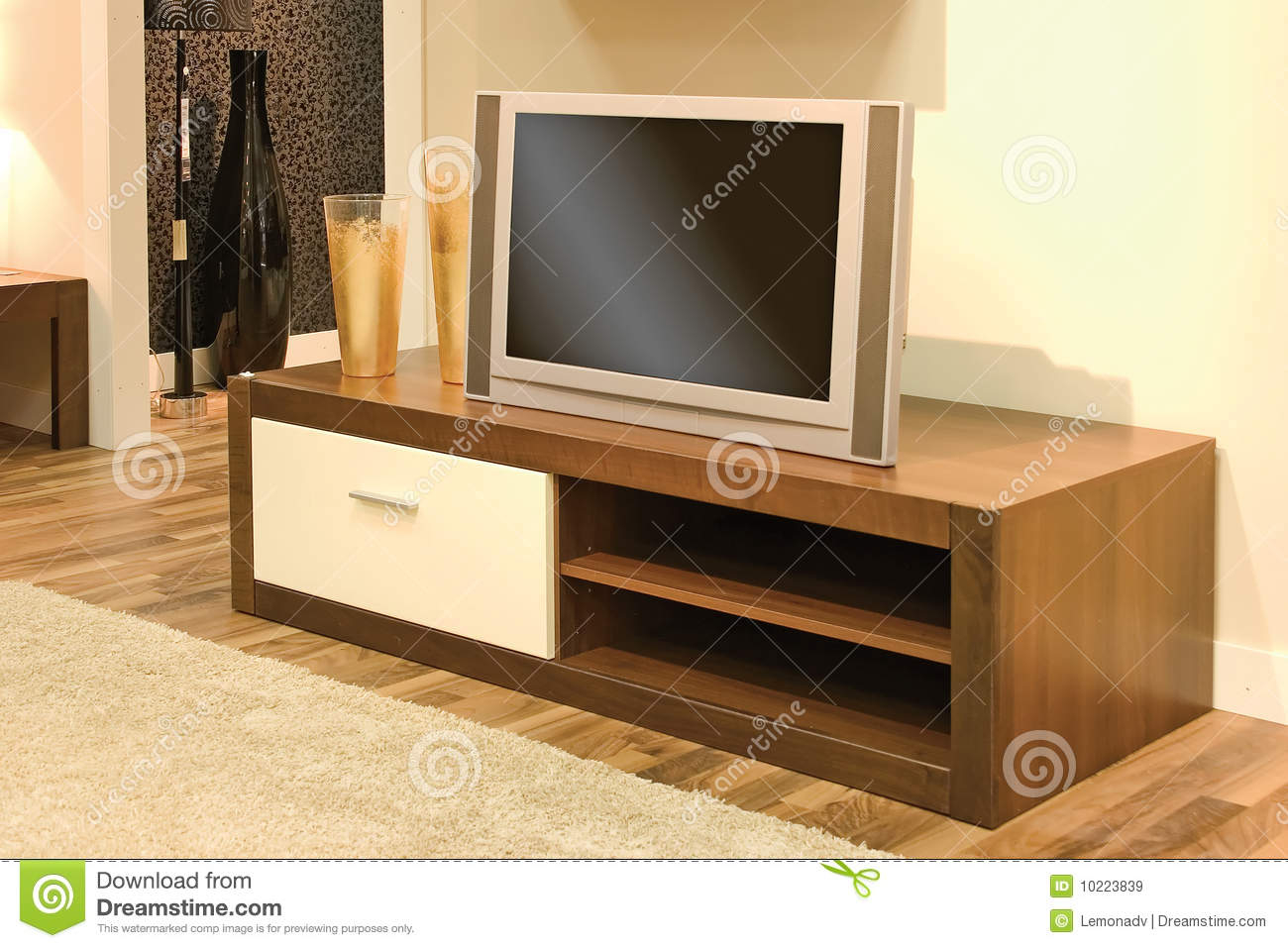 Living Room With Tv Set Stock Image Image Of Renovation 10223839 inside 13 Clever Ideas How to Improve Living Room Sets With Free TV