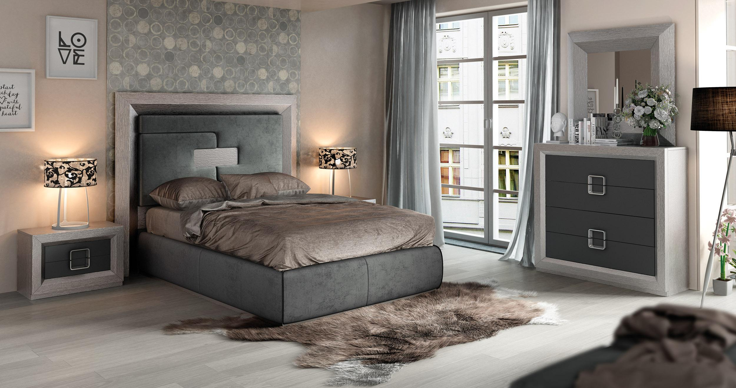 Made In Spain Quality Elite Modern Bedroom Sets With Extra Storage with regard to Modern Bedroom Suite