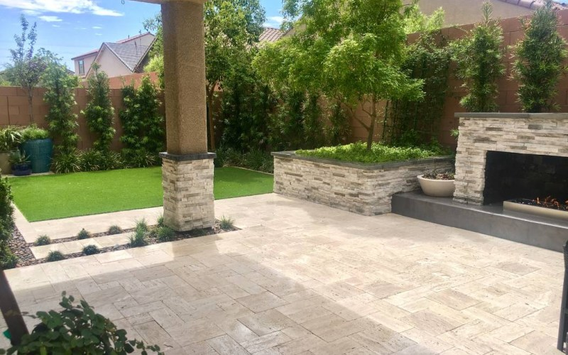 Make The Most Of A Small Yard Las Vegas Review Journal with Backyard Landscaping Las Vegas