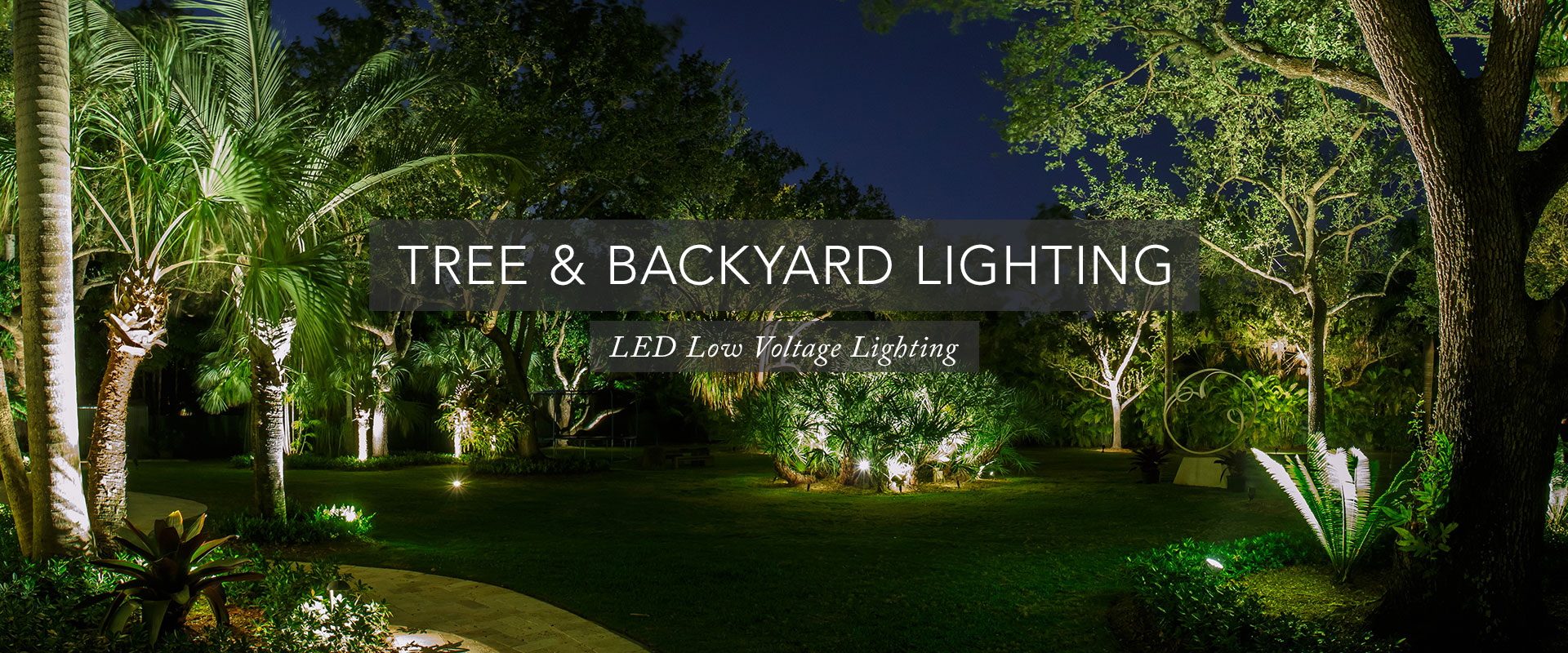 Miami Landscape Lighting Inc Led Installations Tel 305 479 5531 pertaining to 15 Some of the Coolest Tricks of How to Craft Backyard Landscape Lighting