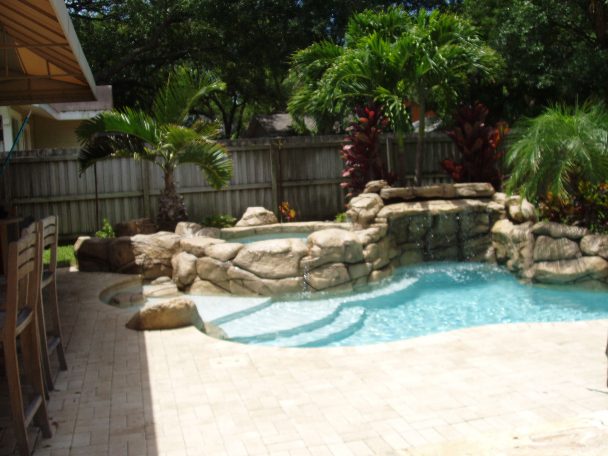 Mini Pools For Small Backyards Rock Pools Natural Springs Pools within 14 Some of the Coolest Tricks of How to Build Backyard Design Ideas With Pool
