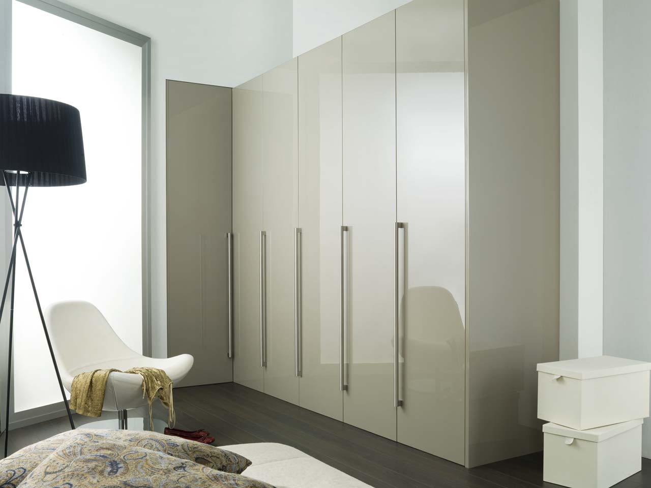Modern And Stylish Wardrobes And Dressing Rooms Porcelanosa in 12 Clever Tricks of How to Improve Modern Bedroom Wardrobes