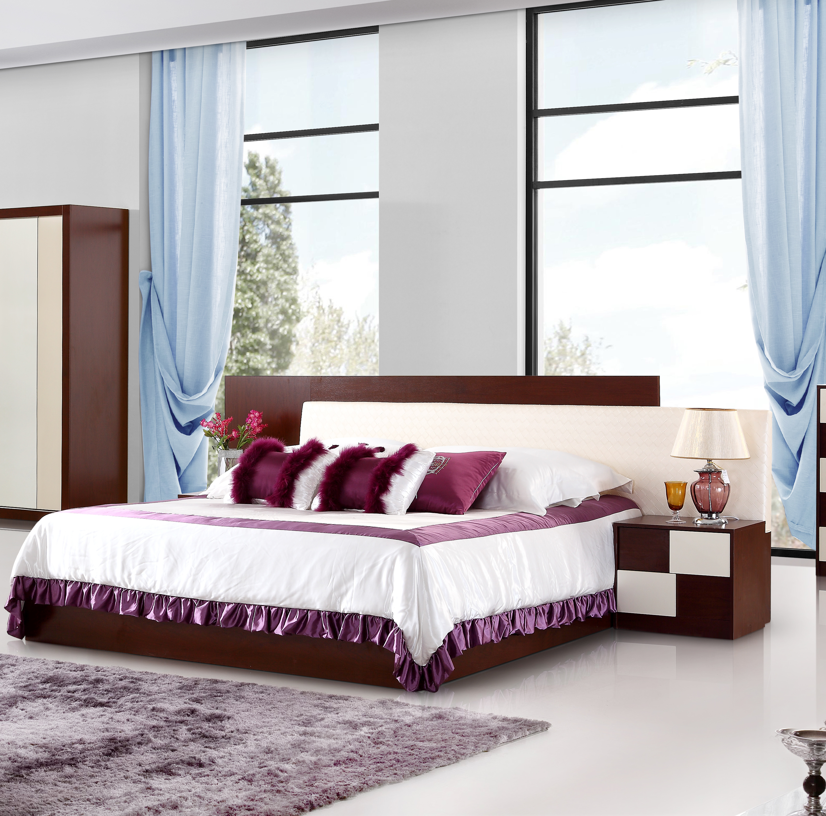 Modern Bed Room Furniture Bedroom Setking Size China Bedroom within 12 Smart Concepts of How to Makeover Modern Bedroom Set