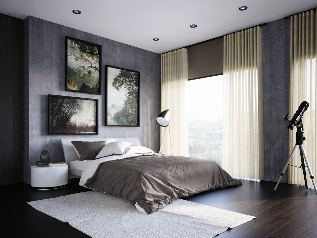Modern Bedroom Blinds Patio Coverings Ideas Atrium Door Window within Modern Bedroom Blinds