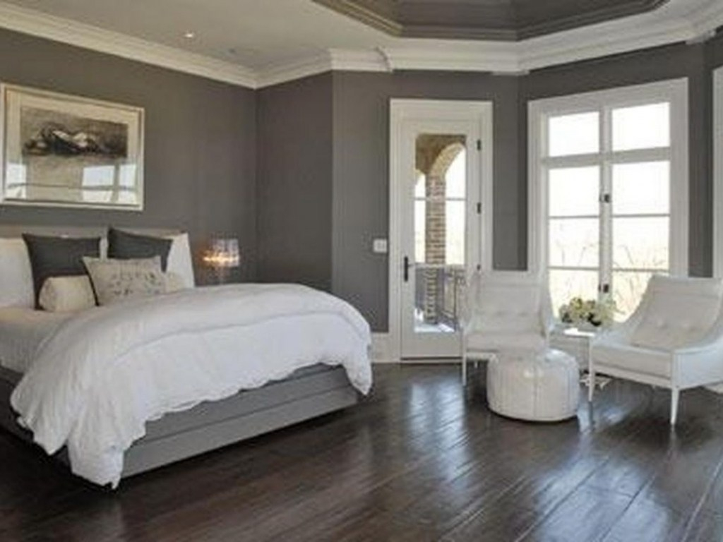 Modern Bedroom Grey Walls Grey Wall Mounted Headboards With with 15 Awesome Ideas How to Improve Modern Gray Bedroom Ideas