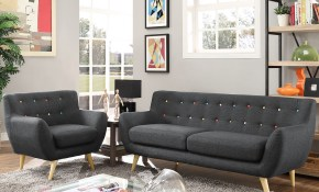 Modern Contemporary Living Room Furniture Allmodern throughout Modern Sofa Set Designs For Living Room