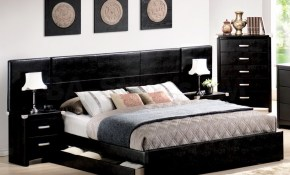Modern Effective Bedroom Design With Platform Storage Bed Decor within Modern Style Bedroom Sets