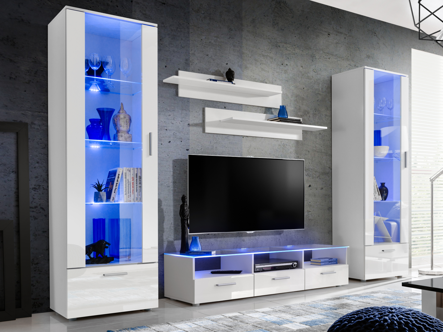 Modern Living Room Set Cupboard Stand Gloss Tv Unit Cabinet intended for 14 Genius Ideas How to Improve Living Room Set With TV
