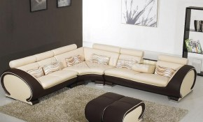 Modern Living Room With Leather Couch Amberyin Decors Choose intended for 10 Genius Concepts of How to Makeover Modern Sofa Set Designs For Living Room