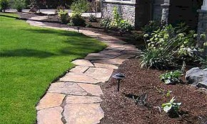 Nice Backyard Pathway Ideas Stunning Front Yard Path Walkway 48 For within 14 Smart Concepts of How to Improve Backyard Pathway Ideas