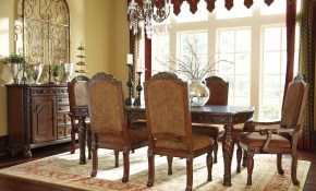 North Shore Rectangular Extendable Dining Room Set From Ashley D553 within 12 Smart Ideas How to Makeover Ashley North Shore Living Room Set