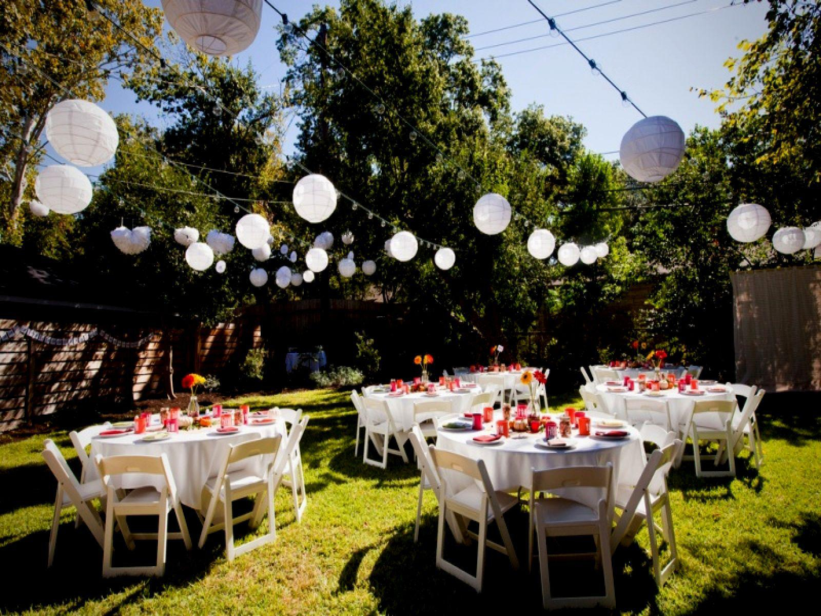 Outdoor Backyard Wedding Ideas Jowilfried Tsonga Decor 12 intended for Outdoor Backyard Wedding Ideas