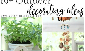 Outdoor Decorating Ideas Artsy Chicks Rule for 15 Smart Ways How to Improve Diy Backyard Decorating Ideas