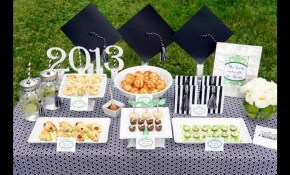 Outdoor Graduation Party Themed Decorating Ideas Youtube intended for Graduation Backyard Party Ideas