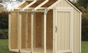 Outdoor Storage Shed Diy Building Kit Garden Utility Garage Tool in Backyard Storage Shed Ideas