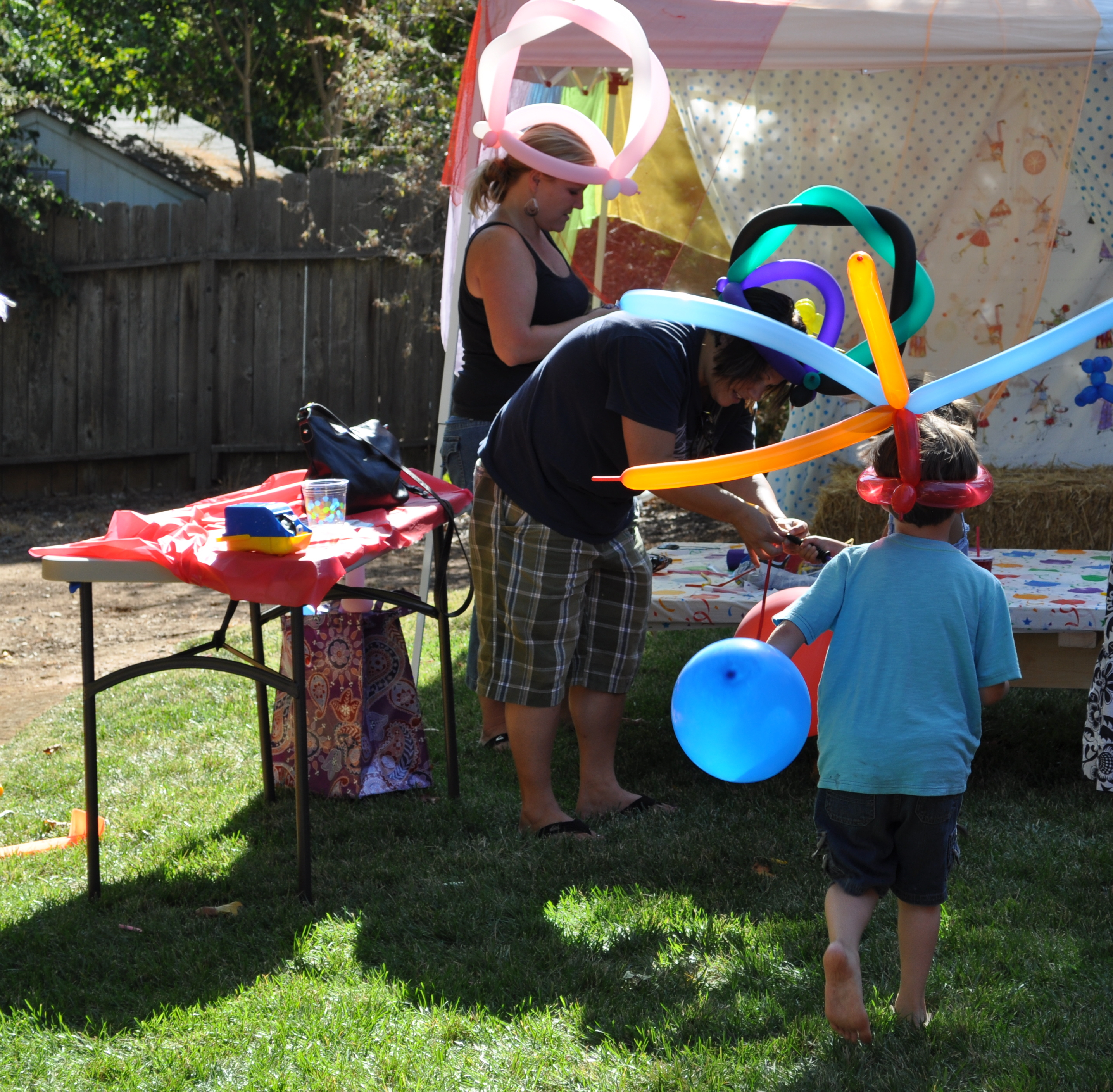 Party On A Budget Backyard Carnival Party Catch My Party pertaining to 12 Genius Tricks of How to Makeover Backyard Carnival Ideas