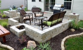 Patio 11 Patio Paver Ideas Paving Ideas For Backyards Intended For inside 11 Awesome Designs of How to Build Paver Ideas For Backyards