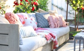 Patio Decorating Ideas 7 Simple Summer Updates Modern Glam regarding 15 Smart Ideas How to Build Summer Backyard Decorating Ideas