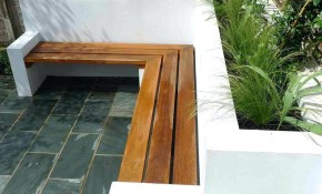 Patio Ideas Built In Patio Planter With Bench Outdoor Wood Planters with Backyard Wood Patio Ideas