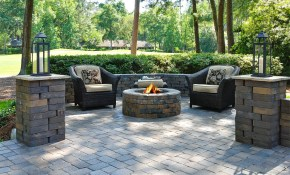 Paver Walkways Patios And Firepits The Masters Lawn Care within 10 Genius Ways How to Makeover Paver Backyard Ideas