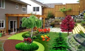 Peaceably April My Page Also Small Ideas Backyard Landscaping Ideas pertaining to 14 Smart Tricks of How to Make Small Backyard Landscaping Ideas For Privacy
