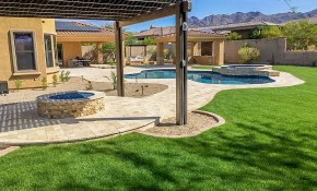 Phoenix Landscaping Designs Outdoor Kitchens And Pavers for Backyard Landscaping Design
