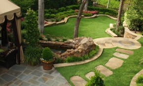 Pin Rachel Teague Hill On Gardening Backyard Landscape Design For pertaining to Landscaping Ideas For Big Backyards
