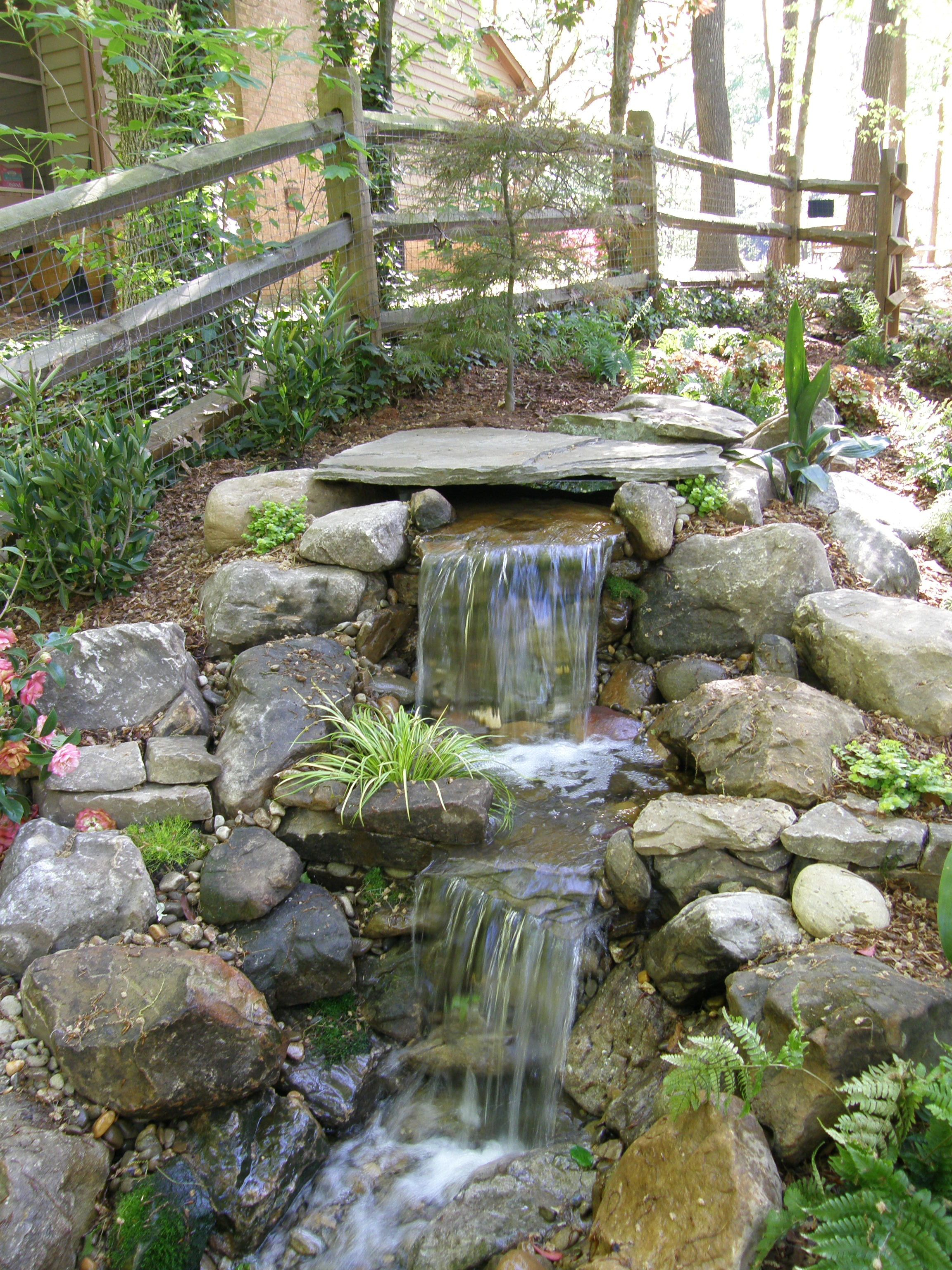 Ponds And Waterfalls Pondless Waterfalls My Secret Dreamy Garden for 11 Smart Initiatives of How to Upgrade Waterfall Ideas For Backyard