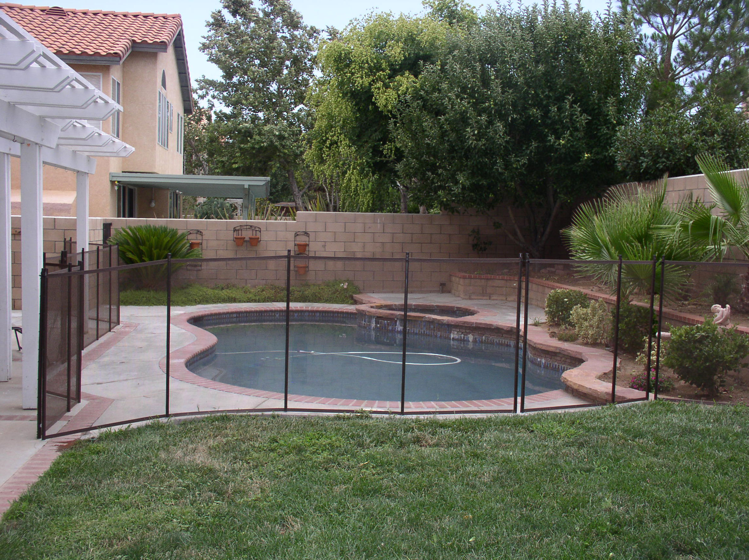 Pool Fence Ideas The New Way Home Decor Impressive Fencing Ideas throughout Backyard Pool Fence Ideas
