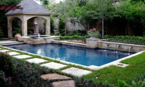 Pool Landscaping Ideas On A Budget Google Search Everything Home regarding Small Backyard With Pool Landscaping Ideas