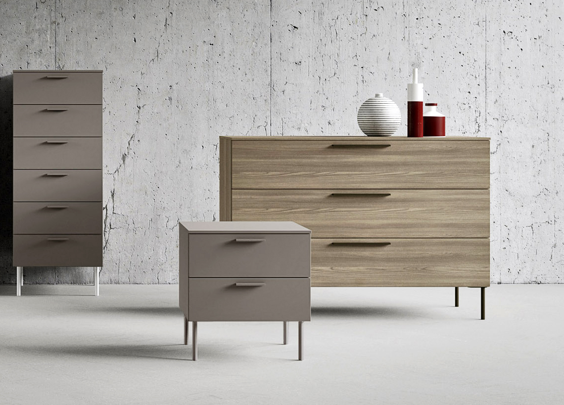 Praga Chest Of Drawers Contemporary Bedroom Furniture At Go Modern with regard to Modern Bedroom Chest