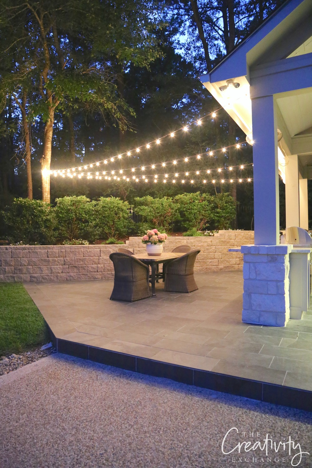 Quick Tips For Hanging Outdoor String Lights pertaining to 11 Genius Tricks of How to Upgrade Backyard String Lights Ideas