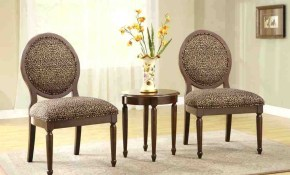 Round Living Room Chairs Brown Leopard Small Accent Chairs For with regard to Leopard Living Room Set