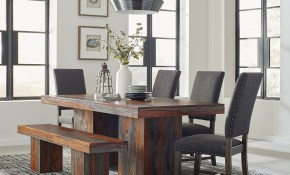 Scott Living Binghamton 6 Piece Dining Set with regard to Living And Dining Room Sets