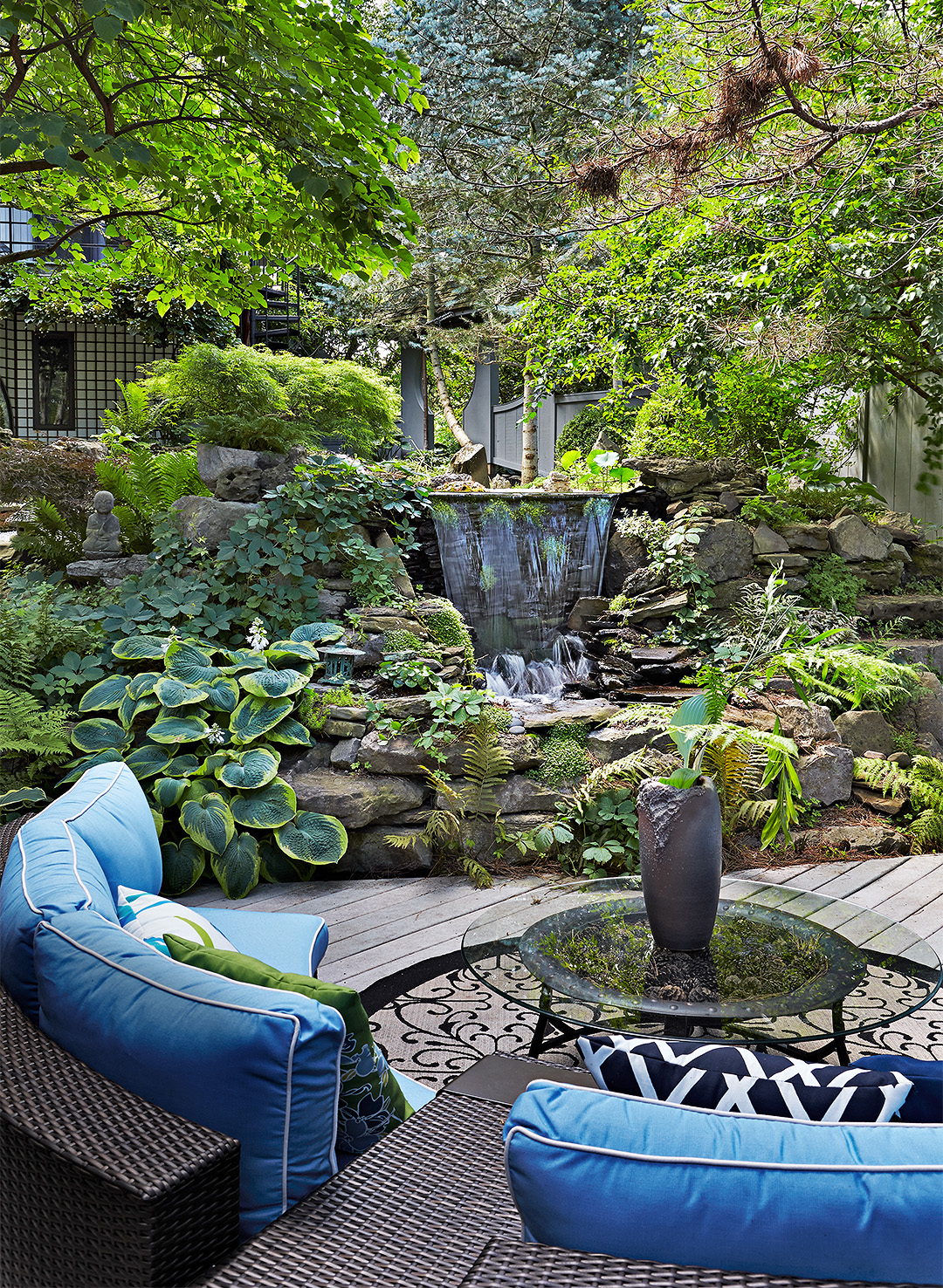 Seven Tips For Landscape Design For Beginners Better Homes Gardens within Designing Backyard Landscape