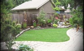 Simple Backyards Landscaping Ideas Green House in Simple Backyard Landscape Ideas