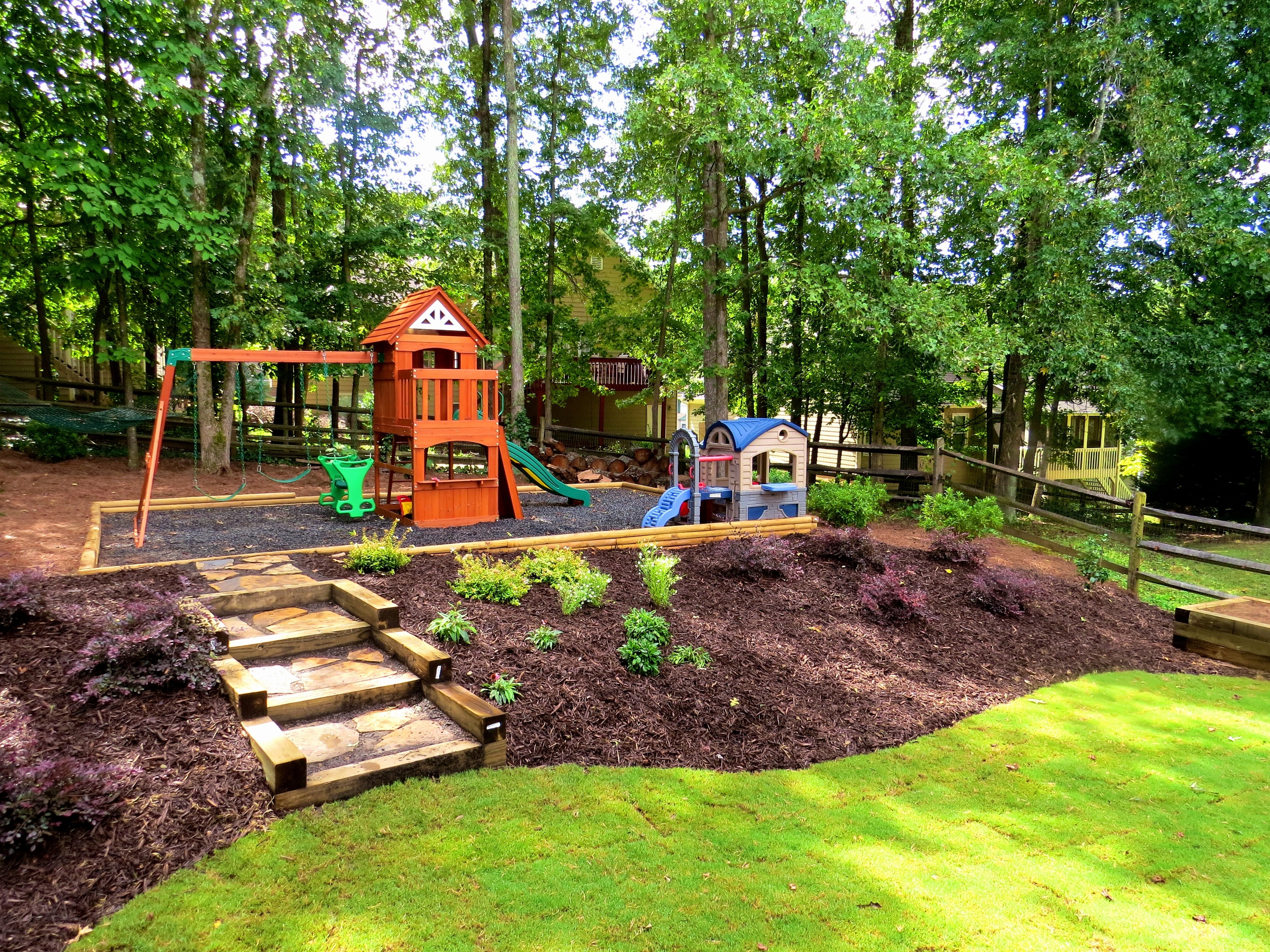 Sloped Backyard Landscaping Ideas Landscape S Luxury with 10 Smart Designs of How to Build Landscaping Sloped Backyard