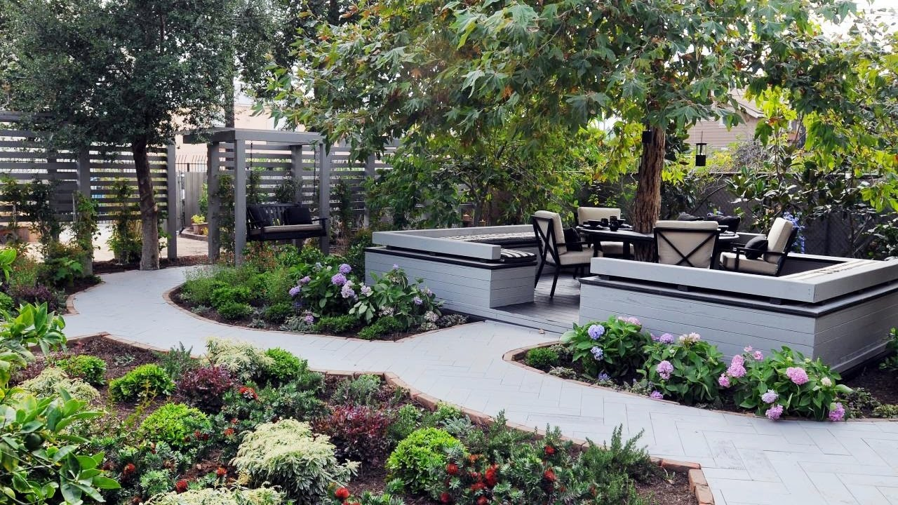 Small Backyard Landscaping Ideas Backyard Garden Ideas Youtube regarding Images Of Backyard Landscaping