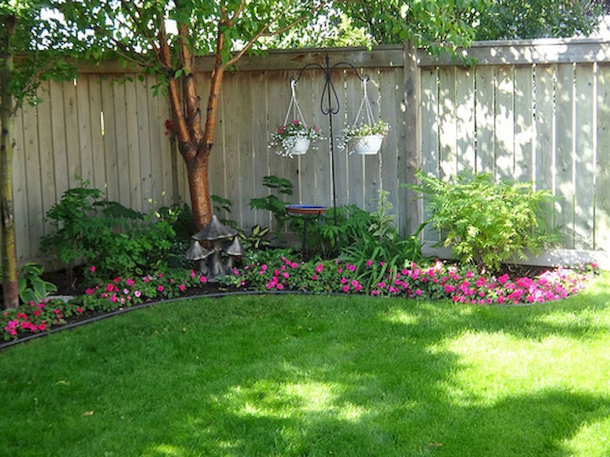 Small Backyard Landscaping Ideas For Privacy Backyard Privacy Fence in Backyard Fence Landscaping Ideas