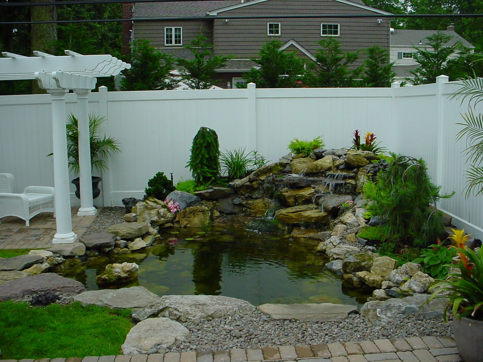 Small Backyard Ponds And Waterfalls Call For Free Estimate Of Our regarding 14 Genius Concepts of How to Upgrade Small Backyard Pond Ideas