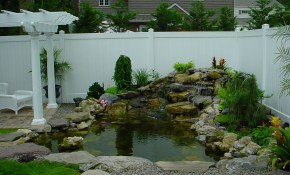 Small Backyard Ponds And Waterfalls Call For Free Estimate Of Our with regard to Backyard Fish Pond Ideas