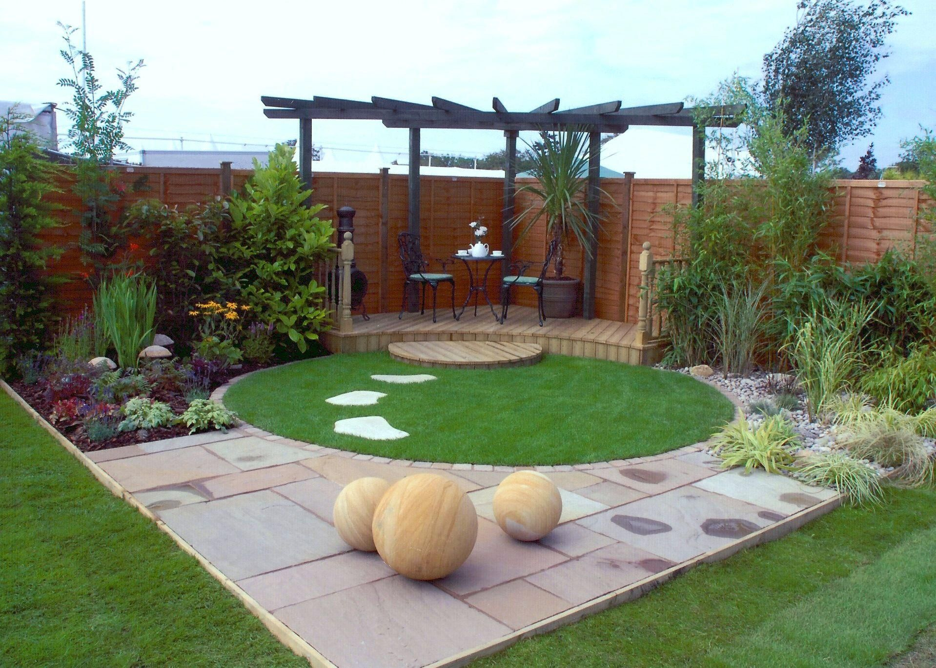 Small Contemporary Garden Google Search Gardening Pinterest intended for 10 Clever Designs of How to Make Landscaping Ideas For Backyard Corner