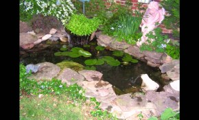 Small Garden Fish Ponds Design Ideas Youtube within 15 Awesome Ways How to Upgrade Backyard Fish Pond Ideas
