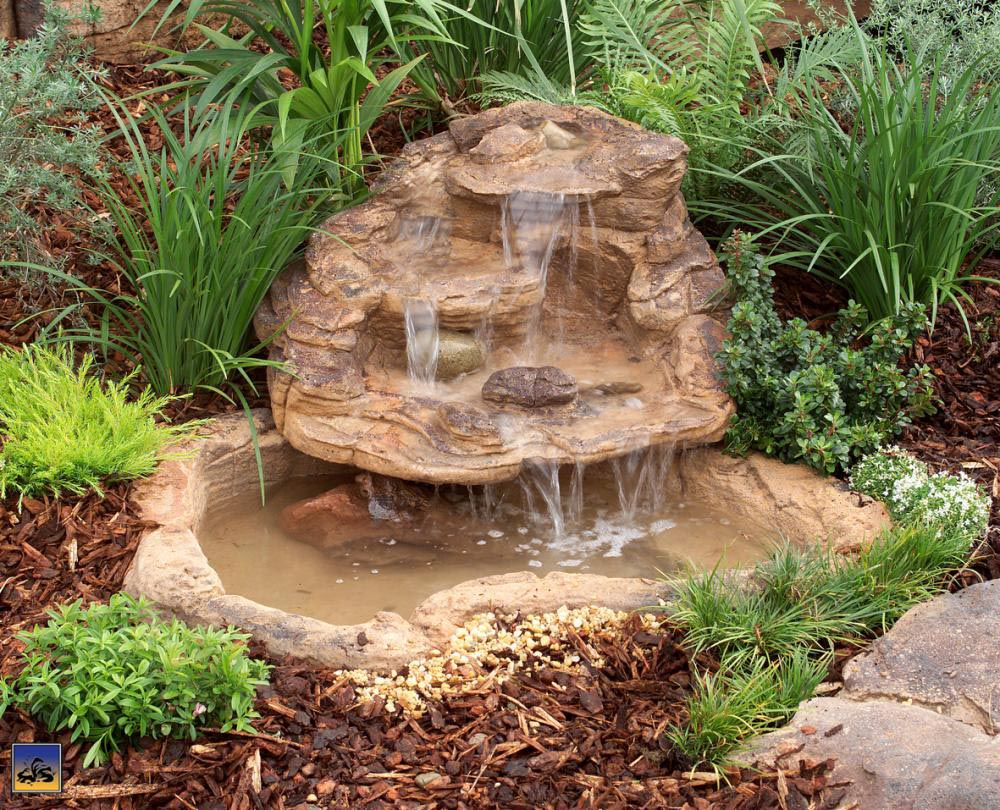 Small Garden Fountain Ideas with Small Backyard Fountain Ideas