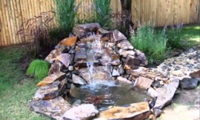 Small Garden Pond Ideas Home Ponds And Waterfalls Youtube within 14 Genius Concepts of How to Upgrade Small Backyard Pond Ideas