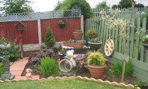 Small Tidy Garden With Box Design In Backyard Ideas Garden Box with regard to 11 Genius Initiatives of How to Craft Backyard Ideas For Small Spaces